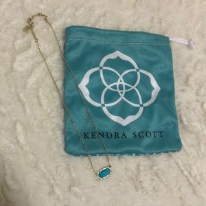 Kendra Scott Gold Elisa Necklace